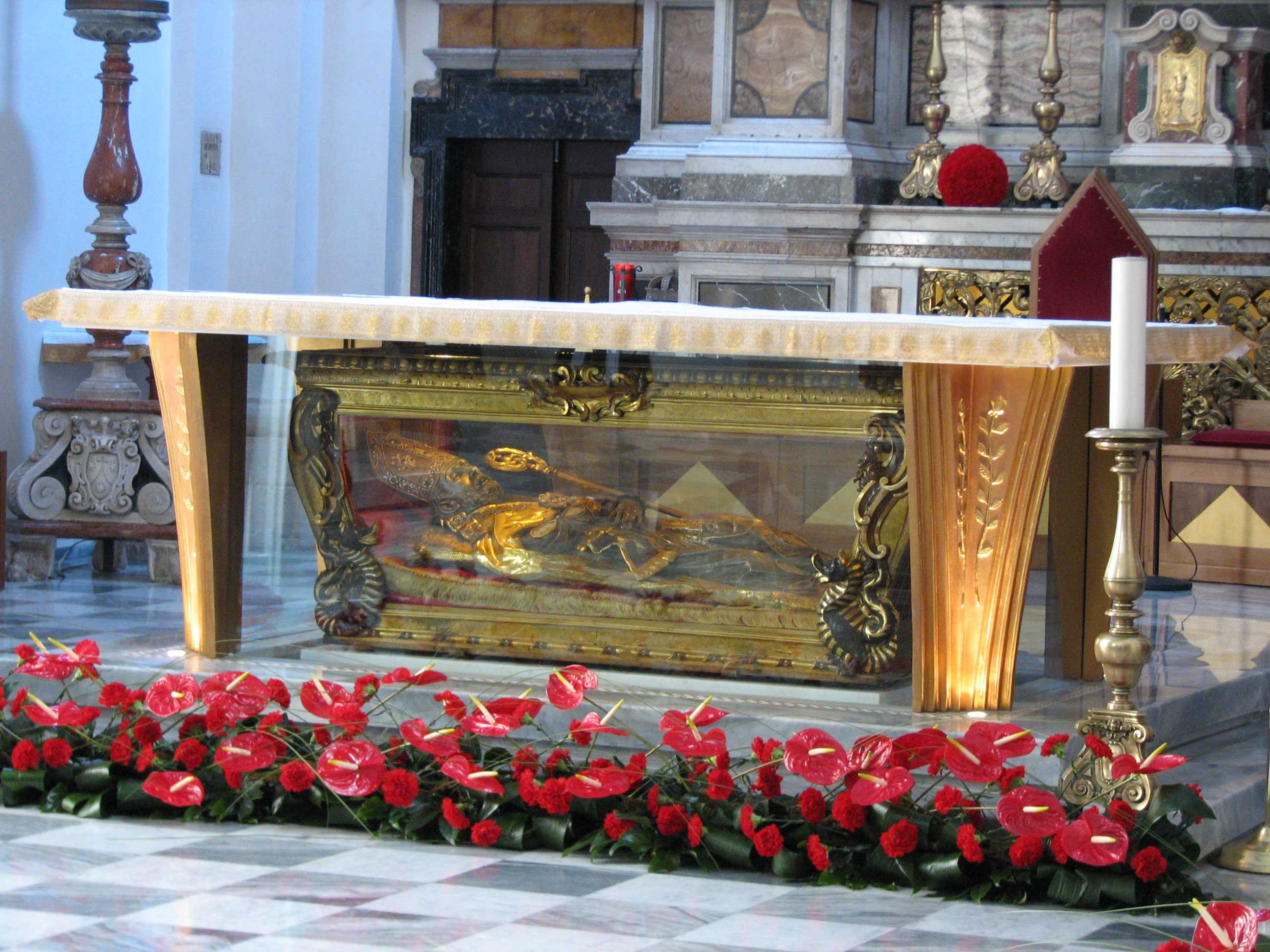 San Valentino, a Gandino le reliquie del Santo