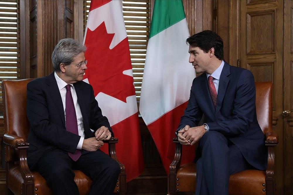Il premier canadese Justin Trudeau dal Papa dopo G7 e Amatrice