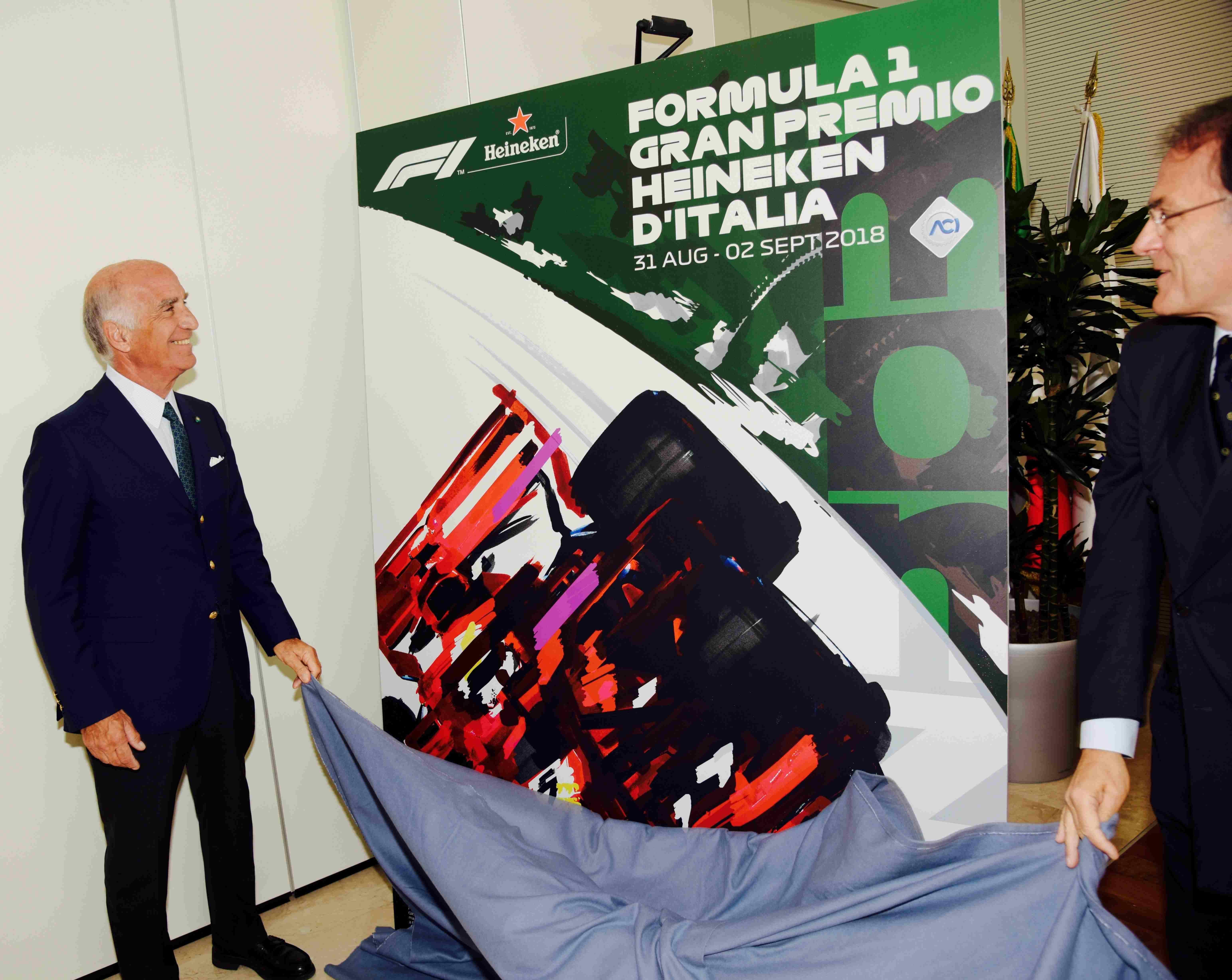 F1 GP Monza, ecco il poster. Drudi: