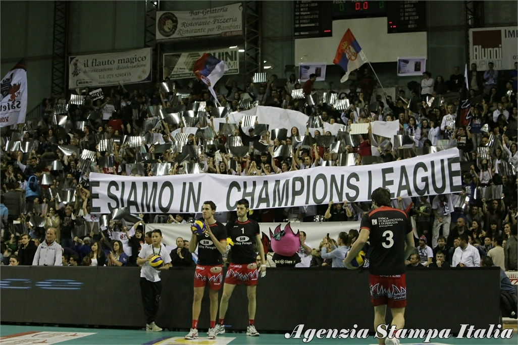 Pallavolo Serie A 1 , gara 4 Semifinale Play Off Sir Safty Perugia-Piacenza 3-2 Photogallery
