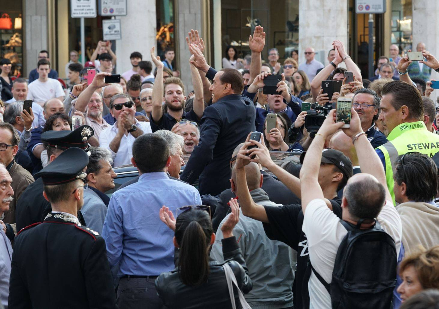 Milan, Berlusconi boom: